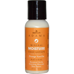 Adama Minerals, Moisture Intense Daily Lotion, Orange Vanilla, 2 oz